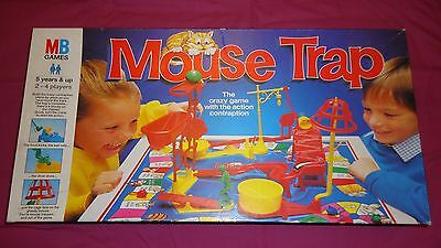 Vintage MOUSE TRAP Family Game Dated1986 - 100% Complete & GC - MB Games