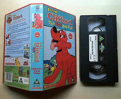 Clifford - The Big Red Dog - Vhs Video