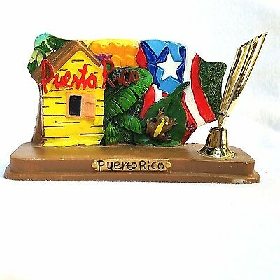 Puerto Rico Home & Office Decorative PEN HOLDER Souvenirs Rican #1 HOUSE