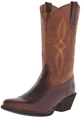 Ariat Women's Round Up Narrow Square Toe II Western Cowboy Boot 9 B(M) US NEW
