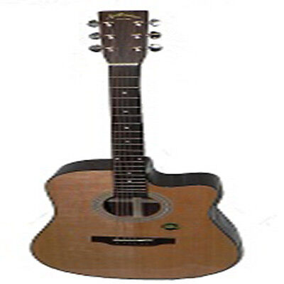 Aria Acoustic/Electric Dreadnought Cutaway guitar,