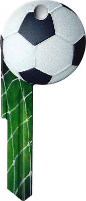 """Trendy 3D """"  SOCCER BALL """" House Key SCHLAGE SC World Cup Euro"""