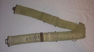 WW2 WWII Canadian British Pattern 19 25 Officer's Belt Webbing