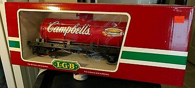 LGB Campbell's Soup Tank car 44800 g-scale