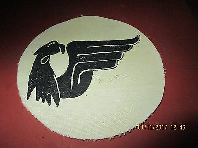 Wwii Luftwaffe Fighter 6/jg52 Black Falcons   Flight Jacket Patch