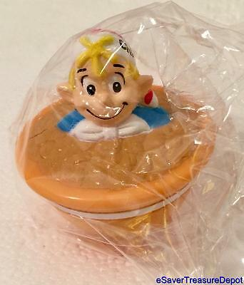 """NIP! Kellogg's Rice Krispies Spinner Top """"CRACKLE"""" Auth. Collectible Toy, 2003"""
