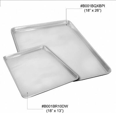 Excellante 18 Inch x 13 Inch Pan Half Size Aluminum Sheet Kitchen Dining Bar