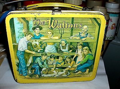 The Waltons`1973`Hit Tv Show,Lorimar Productions,Metal Lunchbox-:>Free To US