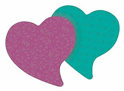 Post-it Super Sticky Notes, 3 in x 3 in, Heart Shape, Assorted Colors, 75 2
