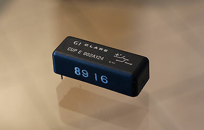 GI Clare Reed Relay CUP E 002A124 - 25x 6pin New