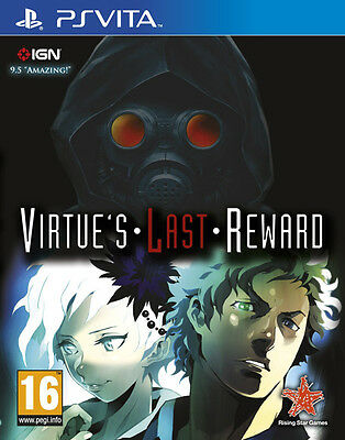 Virtues Last Reward Ps Vita Game - Brand New And Sealed