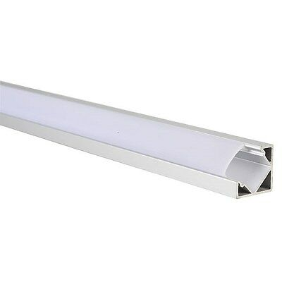 TruOpto SAP-YD1203-1M Right Angle Aluminium Profile for LED Strips 1000x18x18mm