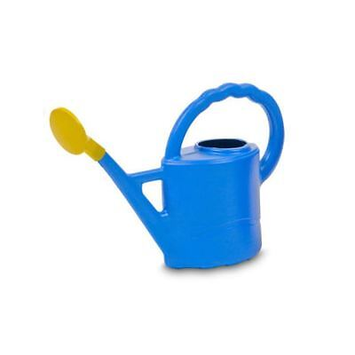 Ward Woodstock Watering Can 2L Lively Blue includes rose for indoor or children
