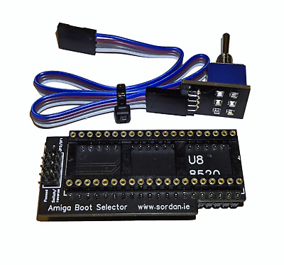 New Boot Selector DF0/DF1 DF1/DF0 Signal SEL0 from SEL1 Amiga 500 #548