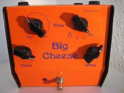 LOVETONE BIG CHEESE fuzz/distortion/bit reducer ☆MADE IN ENGLAND 2001☆ULTRA RARE