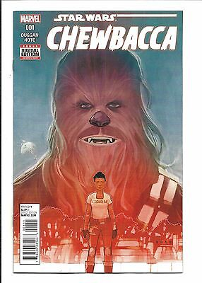 STAR WARS: CHEWBACCA # 1 (DEC 2015), NM NEW (Bagged & Boarded)