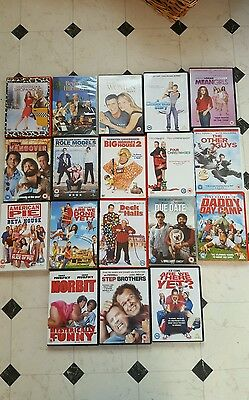DVD Bundle Comedy / Romance - The Hangover Due Date American Pie Mean Girls
