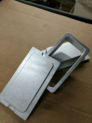 """Mstract 2.5"""" X 4.5"""" pre-press mold for rosin pouches & bags"""
