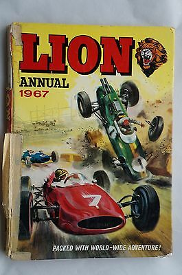 Vintage Lion Annual 1967 - 50 Years Old