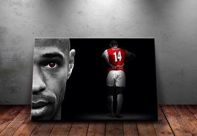 Thierry Henry 'Shadows' Design Wall Canvas A3