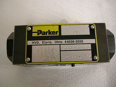 Like New Parker Cpom2Ddv Hydraulic Solenoid Check Valve For Cnc Machine Shop