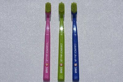 Ultra soft sensitive toothbrush  X3 Curaprox 5460 super colours & healthier