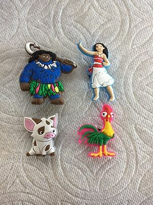 Movie Shoe Charms Fits Crocs Pig Chicken Moana Maui Shoe Charms Maui Clog Charms