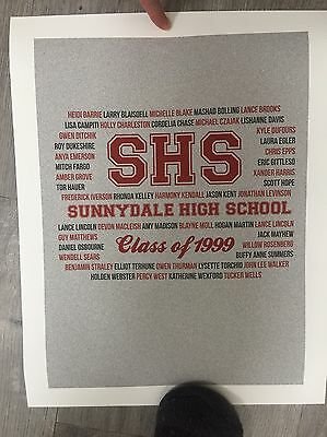 Buffy The Vampire Slayer Sunnydale High Poster Print 13 X 17 Inches NO FRAME