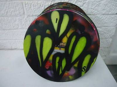 "SEAN WORRALL- HAND PAINTED 12"" VINYL 20/100  Contemporary Street Art - CULTIVATE"