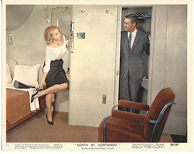 Cary Grant/north By Northwest/8X10 Original Lobby Card  Cc16870  1-267