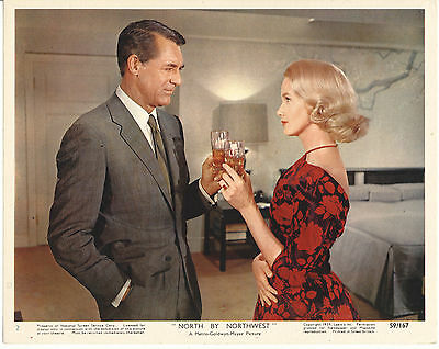 Cary Grant/north By Northwest/8X10 Original Lobby Card  Cc16871  1-267