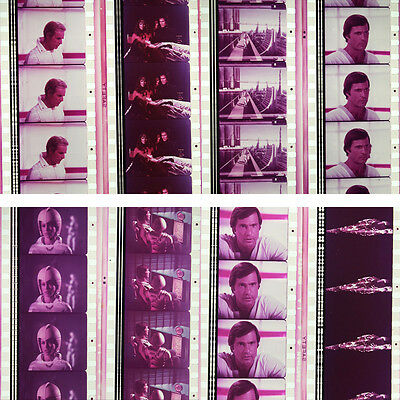 RARE - 8 x 35mm Film Cells - Buck Rogers in the 25th Century (1979) #1