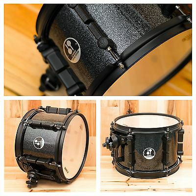 SONOR 10 x 7 FORCE 3007 TOM SPECIAL EDITION BLACK SPARKLE / BLACK HARDWARE