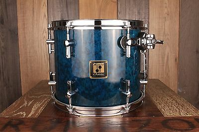 Sonor 12 X 10 Delite Vintage Maple Tom Birdseye Azure Square Badge