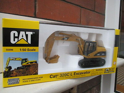 Norscot 1:50 Scale Cat Model 320C L Excavator Cat No.55096.