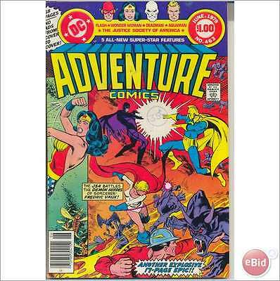 Adventure Comics 463 - 1979 - $ Comic - 68 Pages - Very Fine