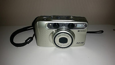 Ricoh RZ-115 35mm Film Camera with case and strap