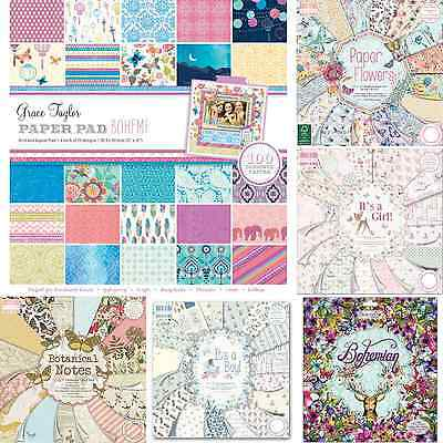First Edition | Dovecraft Paper Card Pads 12 X 12 Samples & Full Books | **new**