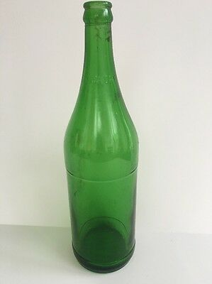 Canada Dry Ginger Ale Green Glass 1 Pint, 12 oz Bottle