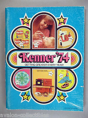 Kenner Toy CATALOG - 1974 ~~ toys