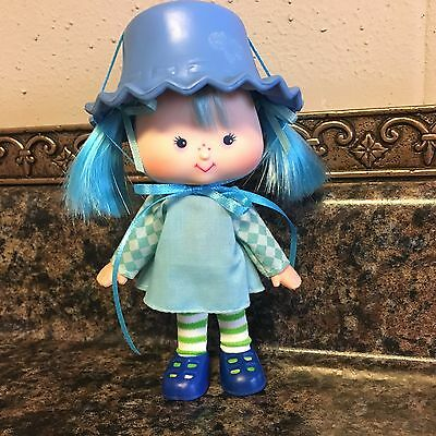 Vintage Strawberry Shortcake Dolls ~ BLUEBERRY MUFFIN With FLAT HANDS ~ SSC ~