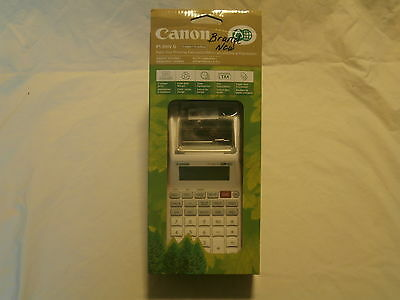 Canon Printing Calculator P1-Dhv G (Palm Size)