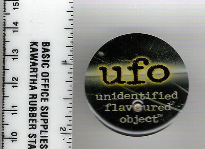 UFO Unidentified Flavoured Object pin RARE! Light flashes
