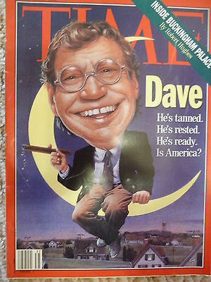 David Letterman Time magazine cover story August 30, 1993