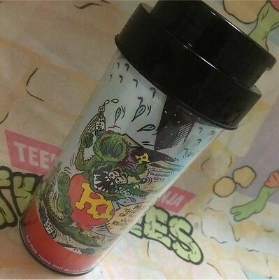Never Use! rare! RAT FINK Tumbler decorated in the glass case