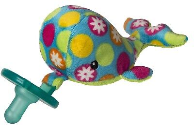 New Mary Meyer WubbaNub Infant Baby Soothie Pacifier ~ Bubbly Whale