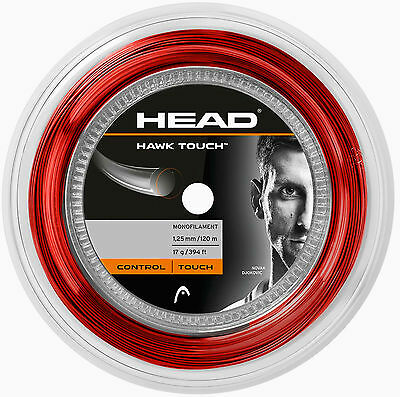 Head Hawk TOUCH - rot - 120 Meter Rolle