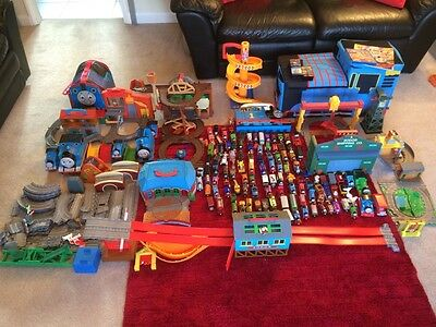 massive Bundle Thomas take along,diecast trains,playsets and other