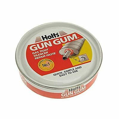 Holts Gun Gum Exhaust Silencer Permanent Repair Paste Putty Car Bodywork 200g