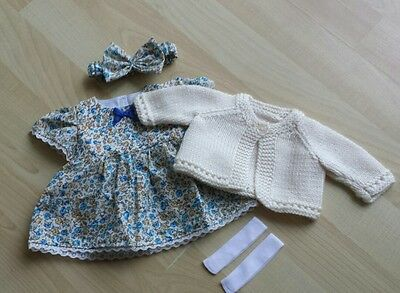 Brand New My First Baby Annabell/Little Baby Born 4 Piece Clothing Set (9)